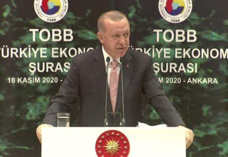 Erdoğan iş dünyası ile buluştu | Video