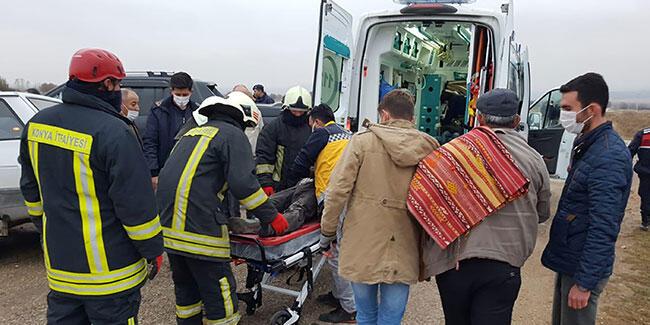 Konya'da feci kaza: Ölü ve yaralılar var