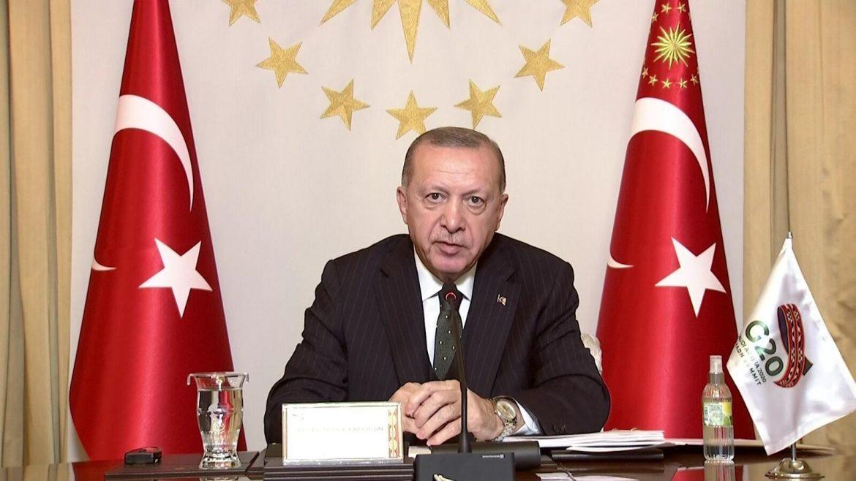 Son dakika… Cumhurbaşkanı Erdoğan, G 20 Zirvesi'nde