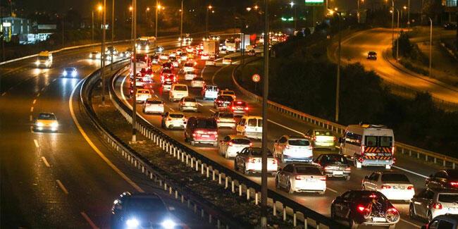 Son dakika haberi… İstanbul'da trafik yoğunluğu