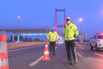 İstanbul'da denetimler devam etti | Video