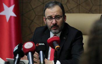 Son dakika... Gençlik ve Spor Bakanı Mehmet Kasapoğlu'nun koronavirüs testi pozitif çıktı