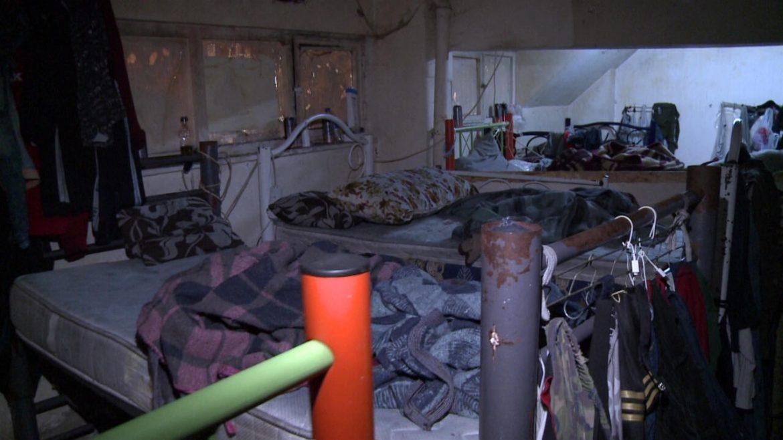 21 çocuk izbe bir depodan kurtarıldı!
