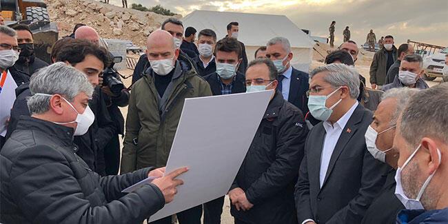 Bakan Soylu'dan İdlib'de inceleme