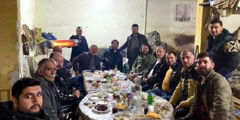 Kısıtlamada 'doğum günü kutlaması' yapmıştı! İYİ Partili Başkan ve arkadaşlarına ceza yağdı