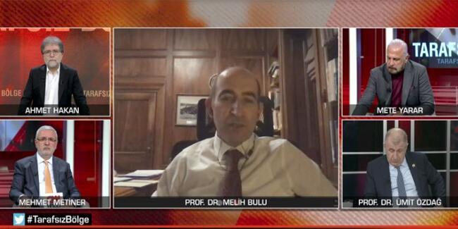 Son dakika haberi… Boğaziçi Üniversitesi Rektörü Melih Bulu, CNN TÜRK'te