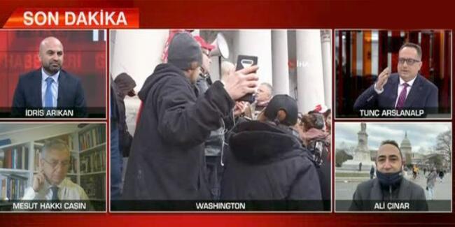 Son dakika haberi… İdris Arıkan sordu, Ali Çınar yanıtladı! Basılan Kongre binasının önemi ne? | Video