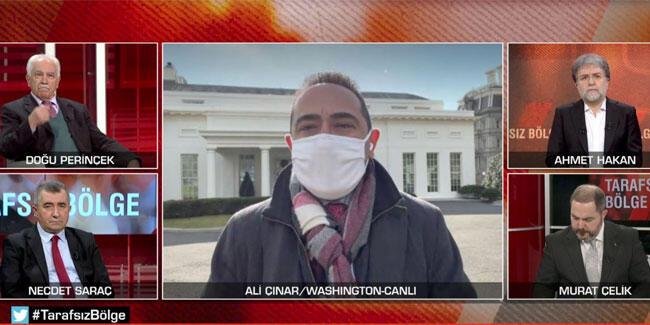 Washington'da son durum! Ali Çınar dünyanın kilitlendiği noktadan aktardı