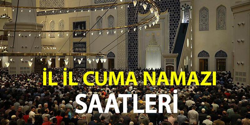 Cuma saati kaçta? İstanbul cuma namazı vakti ne zaman, öğle ezanı saat kaçta?