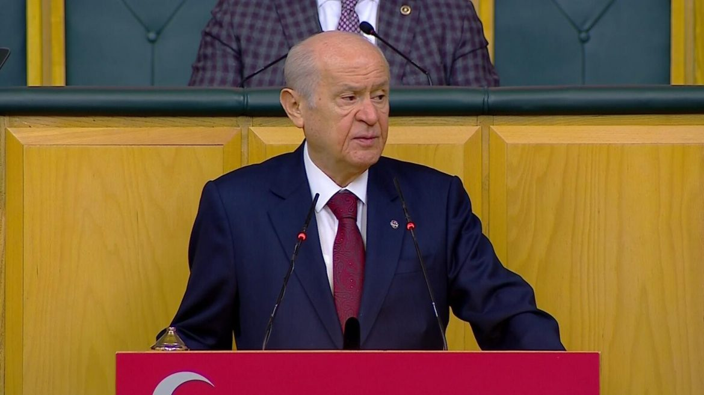SON DAKİKA… Bahçeli: Kandil'e Türk bayrağı dikilmelidir