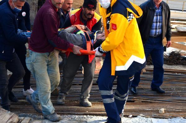 Avcılar'da inşaatta kaza: 1 işçi yaralı