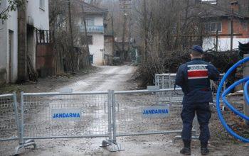 Bartın'da 4 mahalle karantinaya alındı
