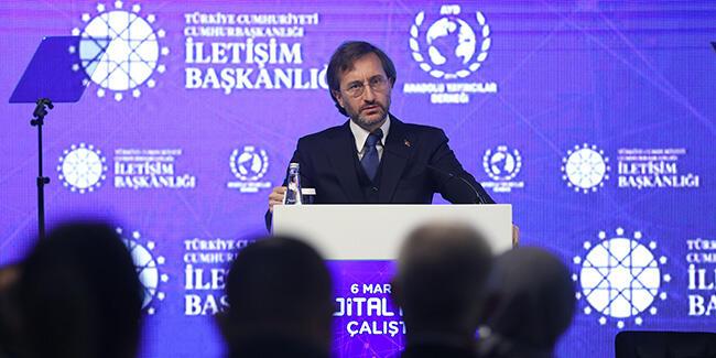 Cumhurbaşkanlığı İletişim Başkanı Altun, Dijital Dünya Çalıştayı'nda konuştu