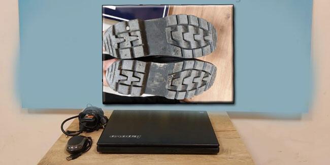 Hırsızı ayakkabı izinden tespit edip yakaladılar!