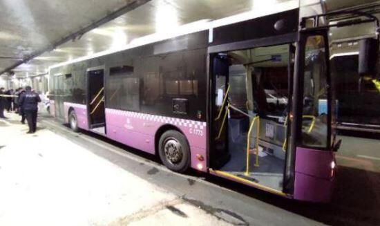 İETT otobüsü çalan sanık tahliye edildi