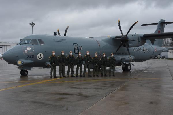 MSB: 2'nci P-72 Deniz Karakol Uçağı Deniz Hava Komutanlığımıza intikal etti