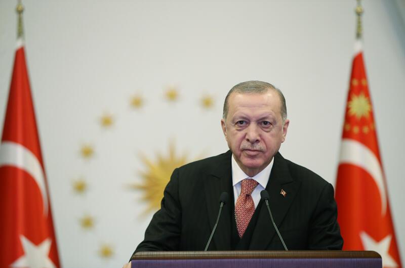 CumhurbaşkanıErdoğan, Türkiye-Arnavutluk Fier Dostluk Hastanesi Açılış Programı'nda konuştu