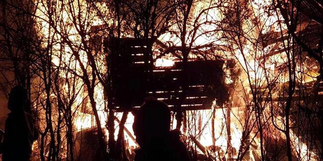Kastamonu'da yangın: Ölüler ve yaralı var