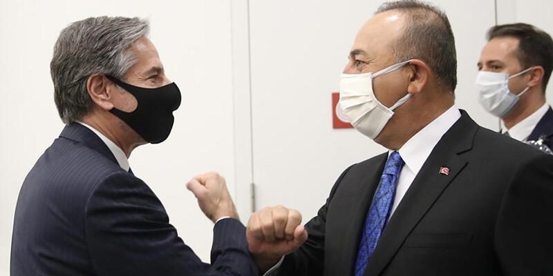 SON DAKİKA HABERİ: Dışişleri Bakanı Çavuşoğlu, ABD'li mevkidaşı ile görüştü