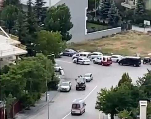 Ankara'da 45 kişinin kaldığı huzurevinde yangın