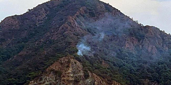 Marmaris'te 1 dekar orman yandı