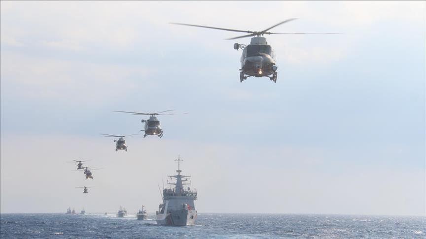 MSB: 'Akdeniz Fırtınası Tatbikatı' başarıyla tamamlandı